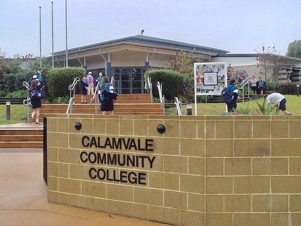 澳立留學 Calamvale community college 校門 上學 澳洲留學 澳洲移民 澳洲打工渡假 中學留學 小學留學 高中留學