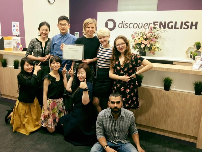 Discover English 探索語言學校