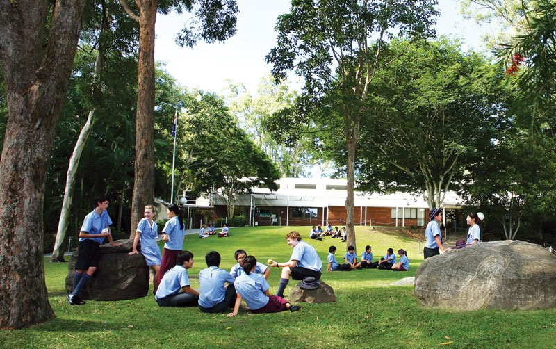 澳立留學 John Paul College 約翰保羅學院 校園 綠地 澳洲留學 澳洲移民 澳洲打工渡假 中學留學 小學留學 高中留學 遊學