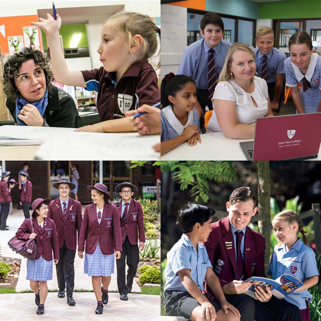 澳立留學 John Paul College 約翰保羅學院 制服 學校提供個人電腦 澳洲留學 澳洲移民 澳洲打工渡假 中學留學 小學留學 高中留學 遊學